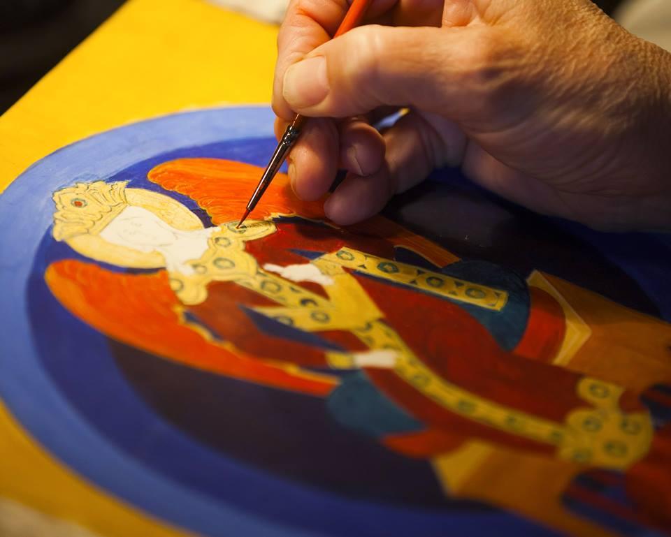 Workshop de Pintura Iconográfica